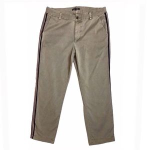 DEAR JOHN Chino Ankle Pants Side Stripe 30